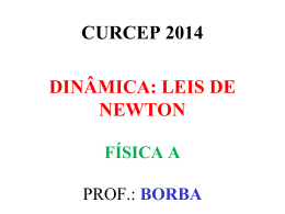princípio fundamental da dinâmica 2ª lei de newton