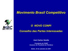 Articular com a Rede QPC - Movimento Competitivo Sergipe