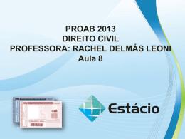 proab 2013 direito civil – aula 08