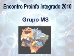 Encontro ProInfo Integrado 2010 - Mato Grosso