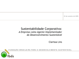 Conceitos Chave e Instrumentos - Fundação Brasileira para o