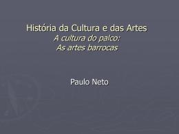 A cultura do palco: escultura barroca