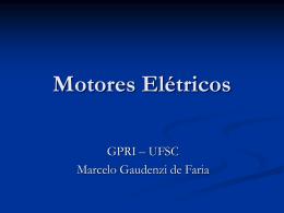 Motores Elétricos e aplicações na robótica