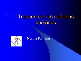 Tratamento das cefaléias primárias