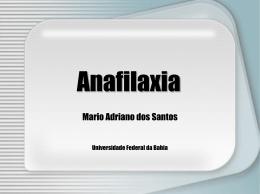 Anafilaxia (Prof.Mario Adriano)