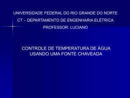 Proj_Gama[1] - DEE - Departamento de Engenharia Elétrica