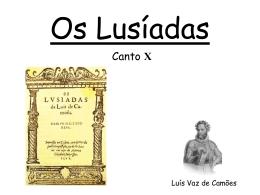 Os Lusíadas – Canto X