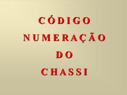 306 NUMERAÇÃO CHASSI APRESENTAÇÃO