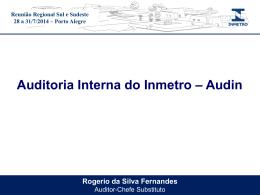 APRESENTAÇÃO AUDIN REGIONAL SUL - Documentos