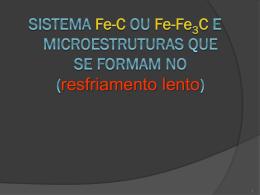 Diagrama de fases Fe..