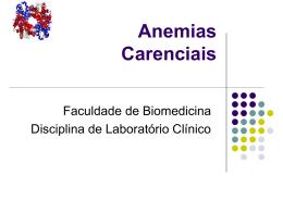 201401_Anemias carenciais