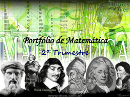 Portfólio de Matemática - Greyce Freddi