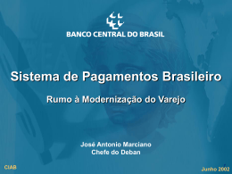 D ipom - Banco Central do Brasil