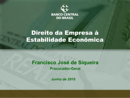 Francisco José de Siqueira - INRE