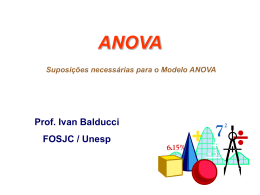 Revisiting the ANOVA Assumptions