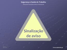 2. sinais de aviso - Segurança e Saúde do Trabalho