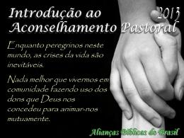 Slide 1 - Aliança Biblica do Brasil