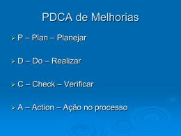 aula complementar - PDCA