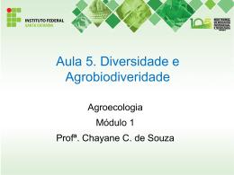 Aula 5. Diversidade e agrodiversidade