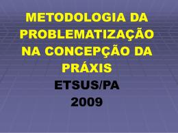metodologia da problematização
