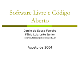 Open Source Software Development