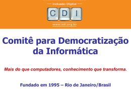 Comitê para Democratização da Informática