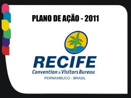 Ações - Recife Convention & Visitors Bureau