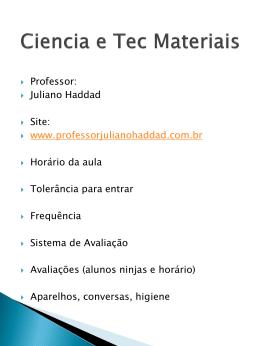 Química Geral I