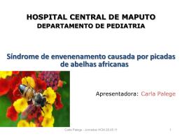 Síndrome do envenenamento causada por picadas de abelhas