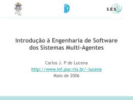 Roadmap para os SMA - (LES) da PUC-Rio