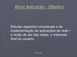 Nível 5 - Aplicação - Divisão de Ciência da Computação
