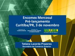 Apresentação - Encomex Paraná