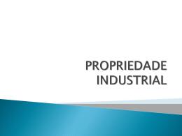 abrangência do direito industrial