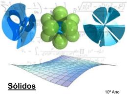 Sólidos - Matemática