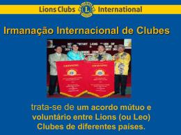 Irmanação Internacional de Clubes
