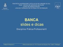Guia de apresentação de slides na Banca (artigo)