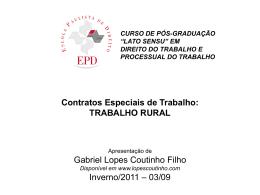 Empregado Rural - Gabriel Lopes Coutinho Filho