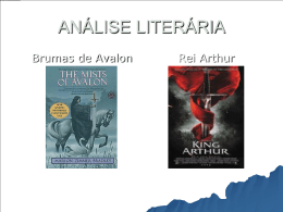 Brumas de Avalon e Rei Arthur
