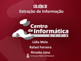 Slide 1 - Centro de Informática da UFPE
