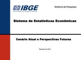 Pesquisas Econômicas Anuais - unificação de questionário