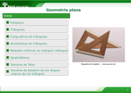 Estudo de Polígonos