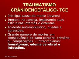 TRAUMATISMO CRÂNIOENCEFÁLICO
