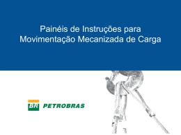 Painéis de Instrução de Movimentação Mecanizada