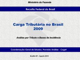 CTB 2009 - Apresentação - Receita Federal