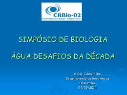 SIMPÓSIO DE BIOLOGIA DESAFIOS DA DÉCADA - CRBio-02