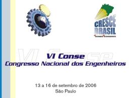 Saneamento.pps - Cresce Brasil + Engenharia + Desenvolvimento