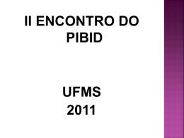 A Política de Educação para O Ensino Médio no Brasil - pibid