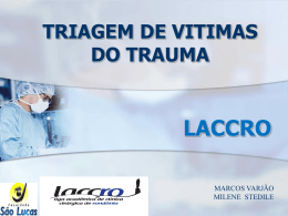 triagem de vitimas do trauma