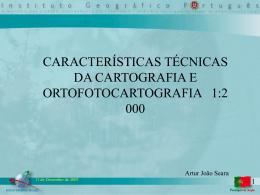 Características técnicas da 2k, cartografia e ortocartografia