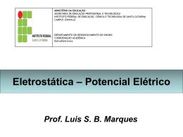 A Energia potencial elétrica